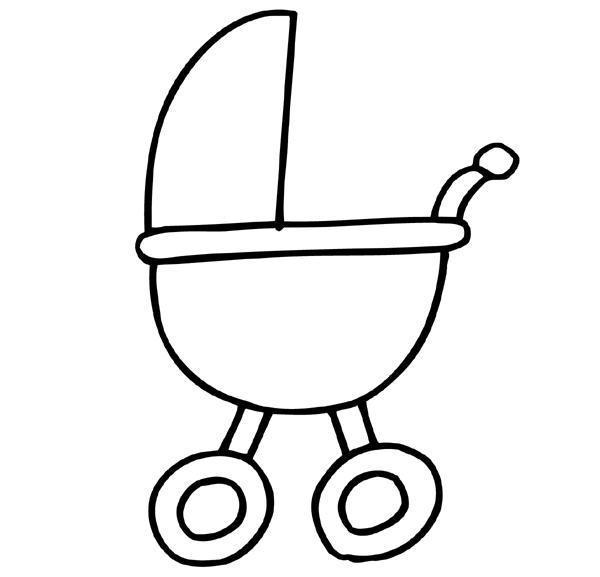 Kleurplaten Baby Spullen.Knutselactiviteiten