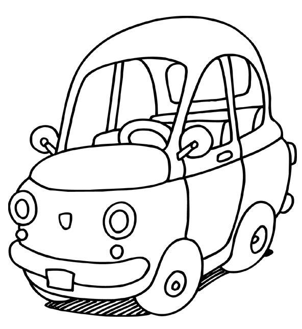 kleurplaten verkeer en vervoer kleurplaat pech onderweg